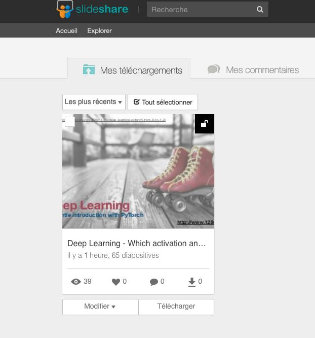 Lien SlideShare - Comment ajouter une url cliquable dans  SlideShare