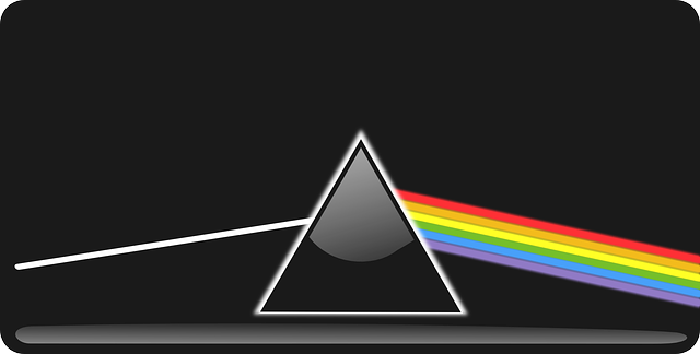 The separation of white light into its component colors is called ?